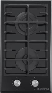 Газовая варочная панель MAUNFELD EGHE.32.6CB/G черный