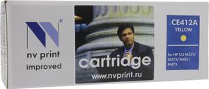 Картридж NV-Print CE412A Yellow