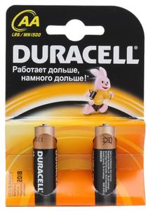 Батарейка Duracell LR6-2BL BASIC (2 шт)