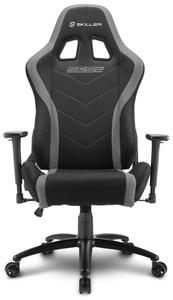 Кресло игровое Sharkoon Shark Skiller SGS2 серый