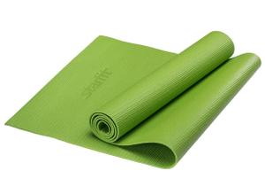 Коврик для йоги STARFIT FM-101 PVC 173x61x0,4 см, зеленый 1/20