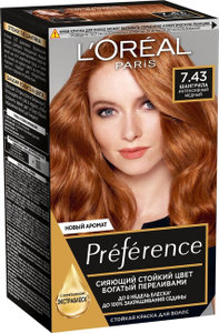 Краска для волос Preference 7.43 Шангрила L'Oreal Paris