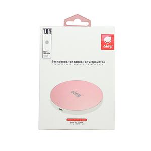 Беспроводное ЗУ Ainy EF-022D розовый