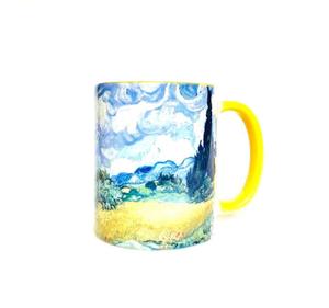 Кружка керамическая «Пшеничное поле» Винсент Ван Гог