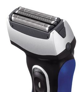 Бритва сетчатая Panasonic ES6002 реж.эл.:3 питан.:аккум. черный/синий