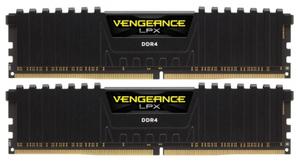 Оперативная память Corsair Vengeance LPX [CMK16GX4M2A2400C14] 16 Гб DDR4