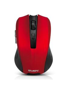 Мышь беспроводная Sven RX-350W красный