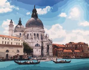 """Картина по номерам на холсте 40х50 """"Венеция"""""""