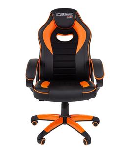 Кресло игровое Chairman game 16 оранжевый