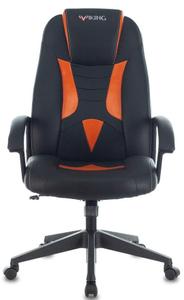 Кресло игровое Бюрократ Zombie VIKING-8 оранжевый