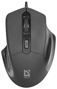 Мышь проводная Defender Datum MB-347 черный