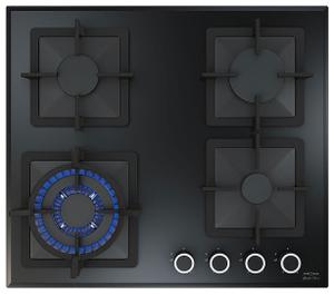 Газовая варочная панель KRONA CALORE 60 черный