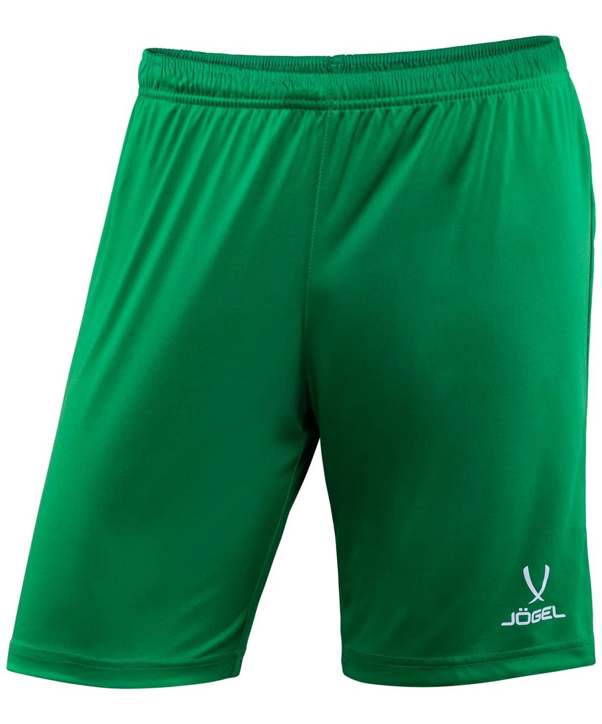 Шорты футбольные CAMP JFS-1120-031-K, зеленый/белый, детские