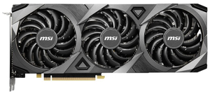 Видеокарта MSI GeForce RTX 3070 VENTUS 3X 8G OC LHR 8 Гб