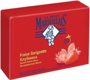 Мыло Клубника 90гр La Petit Marseillais