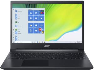 Ноутбук игровой Acer Aspire 7 A715-75G-56UP (NH.Q99ER.00A) черный