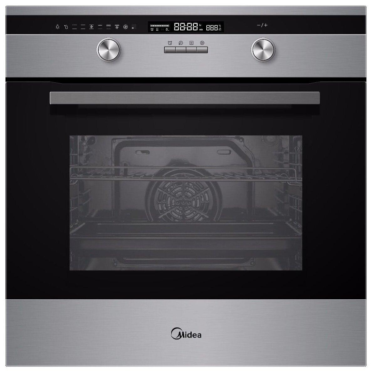 Духовой шкаф Midea MO781E4SPX серебристый