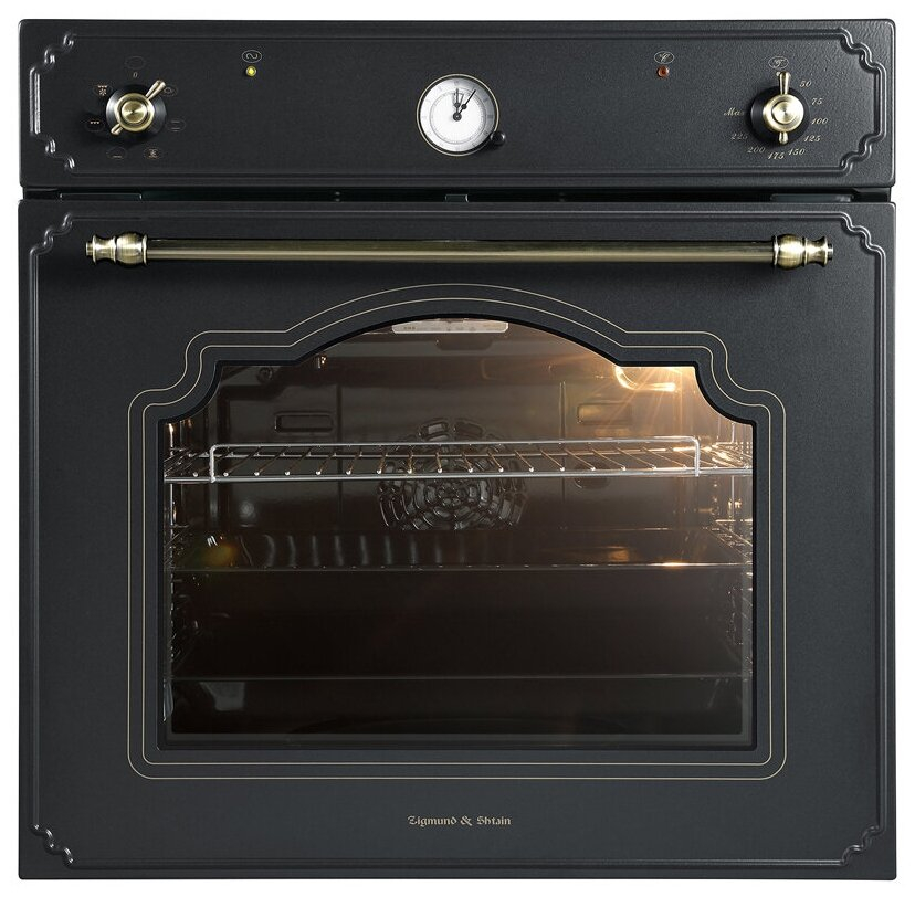 Духовой шкаф Zigmund & Shtain E 134 B черный