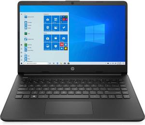 Ноутбук HP 14s-dq2005ur (2X1N8EA) черный