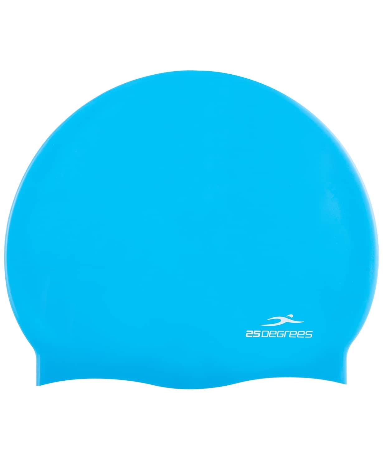 Шапочка для плавания Nuance Blue, силикон