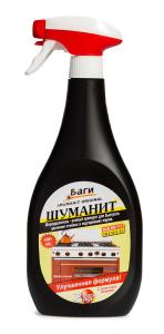 Средство для удаления жира с кухонных плит Шуманит 400мл Bagi