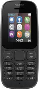 Сотовый телефон Nokia 105 SS черный