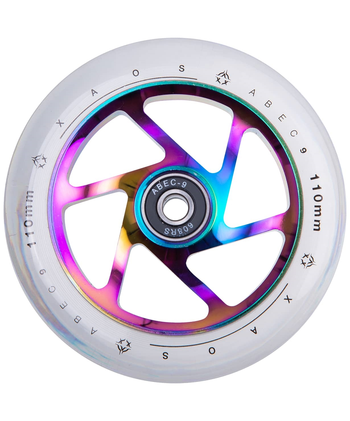 Колесо для трюкового самоката Fan Rainbow 110 мм