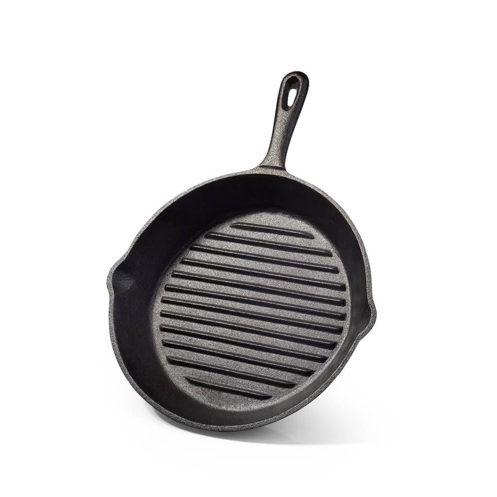 Сковорода- гриль Fissman 18x4,4см (чугун)