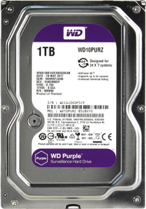 Жесткий диск Western Digital Purple [WD10PURZ] 1 Тб