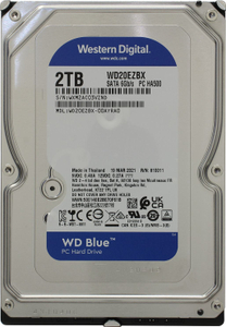 Жесткий диск Western Digital Blue [WD20EZBX] 2 ТБ