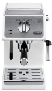 Кофеварка рожковая Delonghi ECP33.21 белый