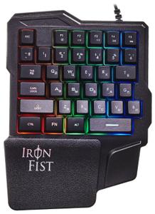 Игровой блок Oklick 701G IRON FIST черный