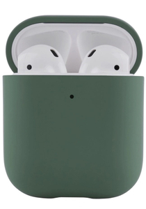 Чехол защитный «vlp» Plastic Case для AirPods, темно-зеленый