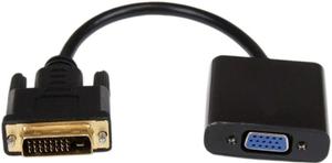 Кабель-адаптер DVI-D 25M - > VGA 15F переходник с DVI-D на VGA  0.2 метра