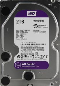 Жесткий диск Western Digital Purple [WD20PURZ] 2 Тб