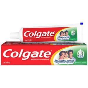 """Зубная паста """"Защита от кариеса"""" двойная мята100мл Colgate"""