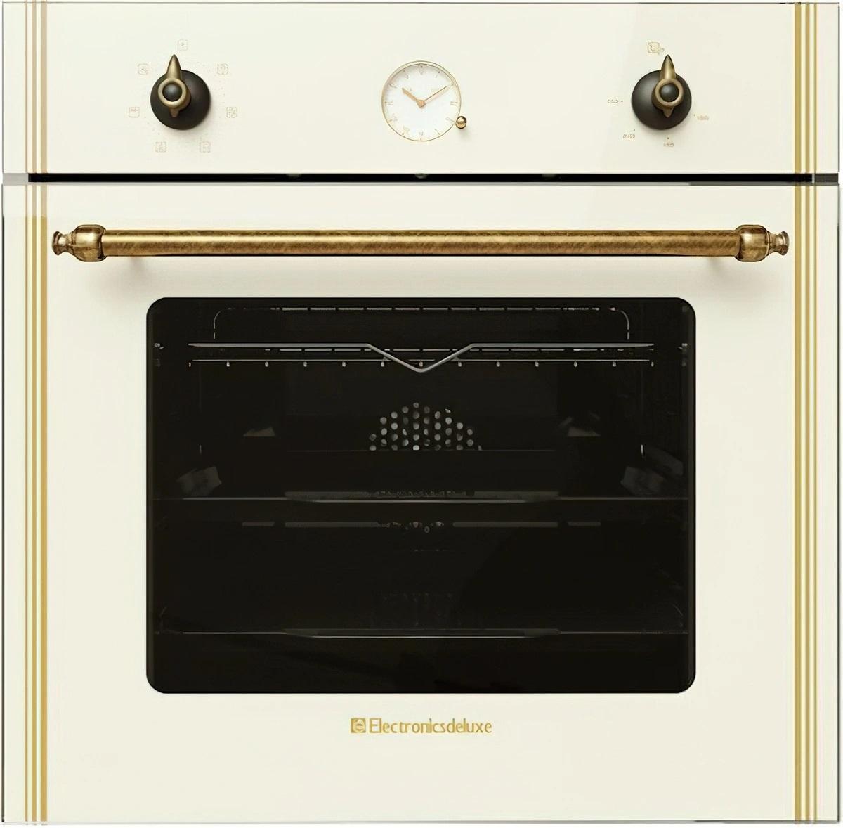 Духовой шкаф Electronicsdeluxe 6006.05эшв-008 бежевый