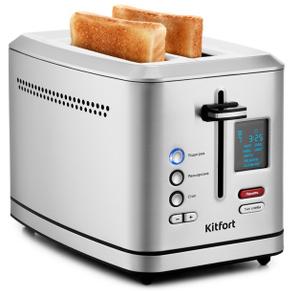 Тостер Kitfort КТ-2049 серебристый